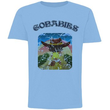 GOBABIES YOUTH BASIC DISTRESS TEE