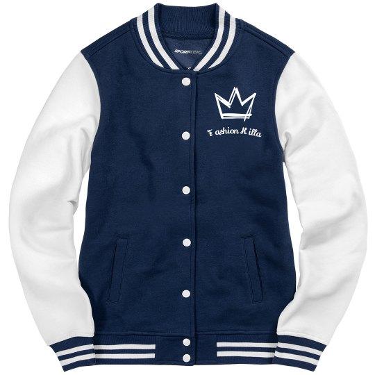 God is from Chgo Varsity Jacket
