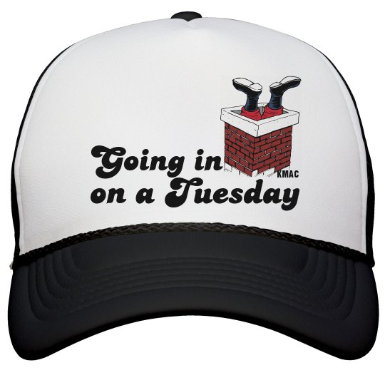 Going in on a Tuesday Hat