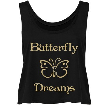 Gold Butterfly Dreams