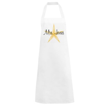 Gold Star Apron