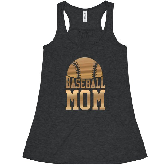 Golden Baseball Mom