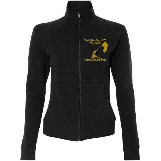 Golden Delight Mom Zip Up