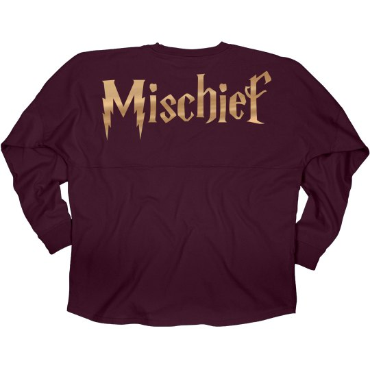 Golden Metallic Mischief Jersey