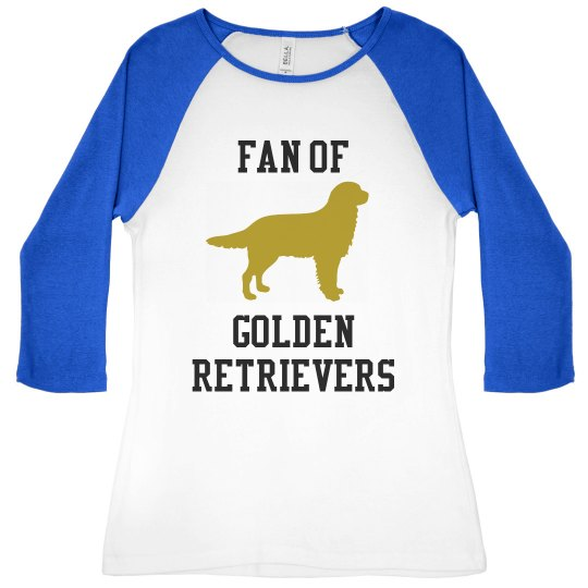 Golden Retriever Fan T