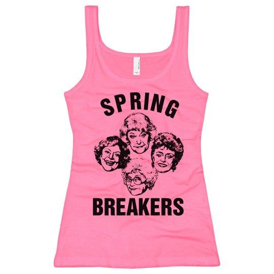 Golden Spring Breakers Girls