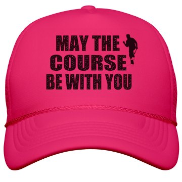 Golf - May the Course Hat