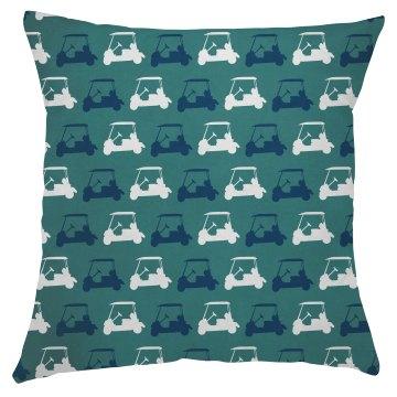 Golf Cart Pillow Cover