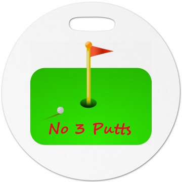 Golfer - Luggage Tag