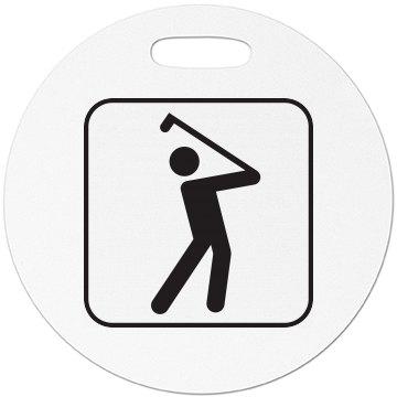 Golfer - Luggage Tag