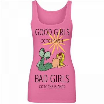 Good Girls Go Tank Pink