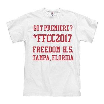 Got Premiere? #FFCC2017 Freedom HS Tampa, FL
