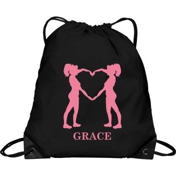 Grace cheer bag