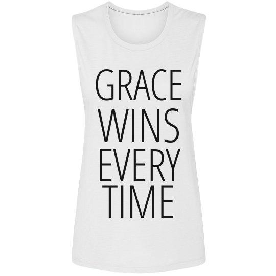 GRACE WINS Muscle Tee