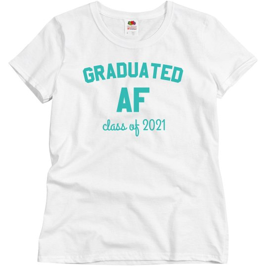 Graduated AF Custom Year Tee