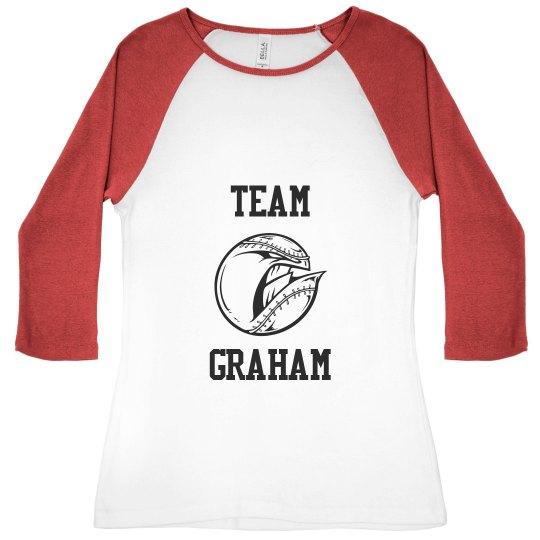 Graham It Baseball Tee