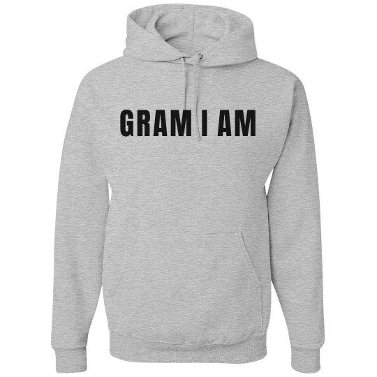 Gram I Am Grandmother Hoodie