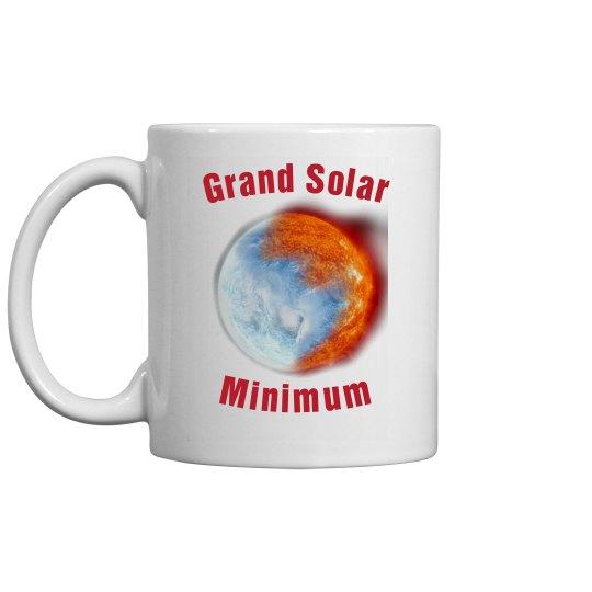 Grand Solar Minimum mug