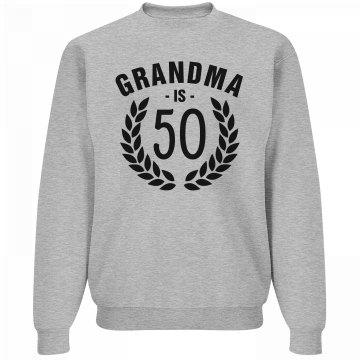 Grandma Is Turning Fifty