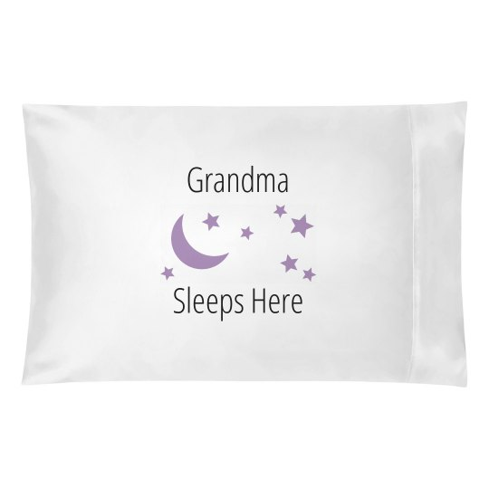 Grandma sleeps here
