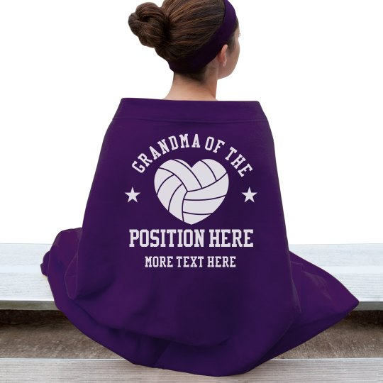 Grandma's Volleyball Blanket