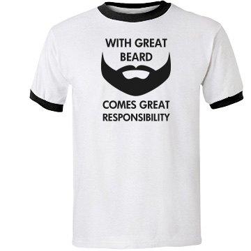 great beard, great responsibility
