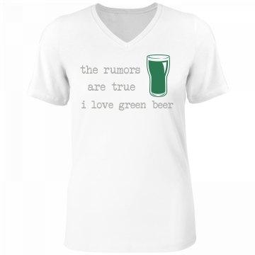 Green Beer Rumors