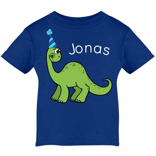 Green Birthday Dinosaur