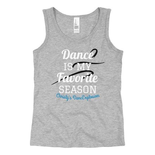 Grey Dance Tank