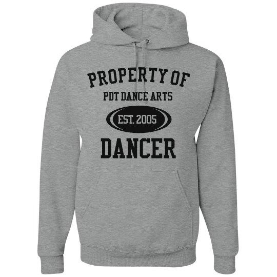 Grey PDT Property Hoodie