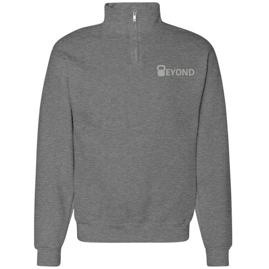 Grey Stadium Half Zip