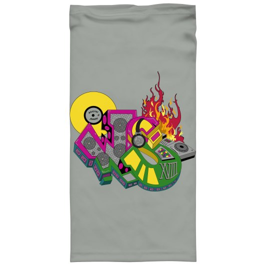 GREY WILDSTYLE GATER  w/ 2 PLY FOLD-DOWN COTTON LINER