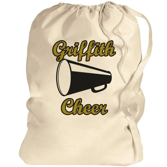 Griffith Cheer Pom Bag