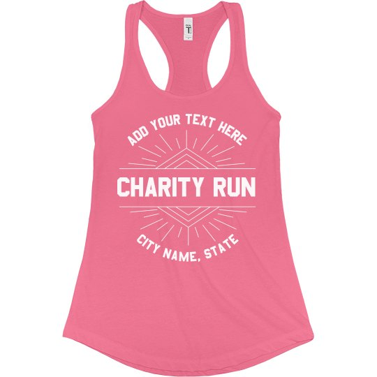 Group Charity Run No Minimums