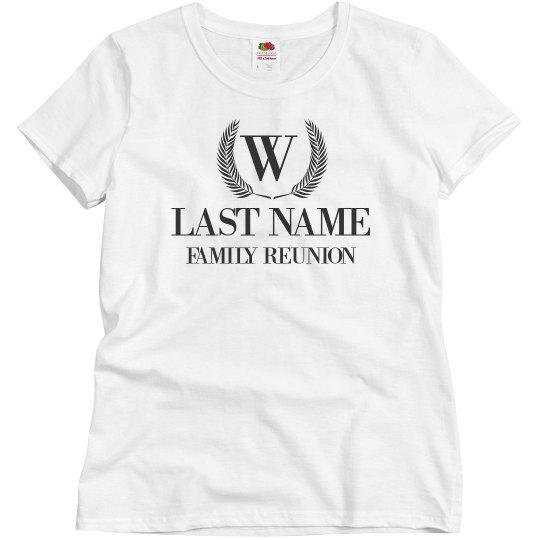 Group Family Reunion Designs Custom
