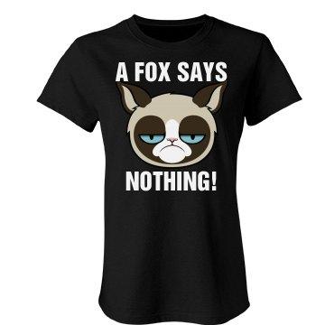 Grumpy Cat Hates Fox