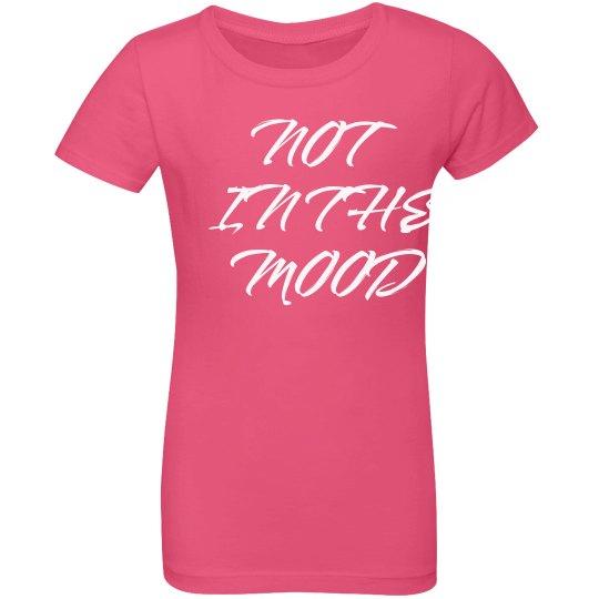 Grumpy Mood Girls Tee