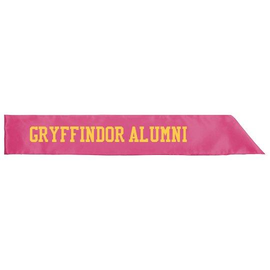 Gryffindor Alumni Halloween Sash
