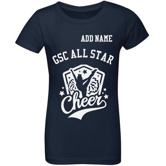 GSC All Star Cheer T Shirt