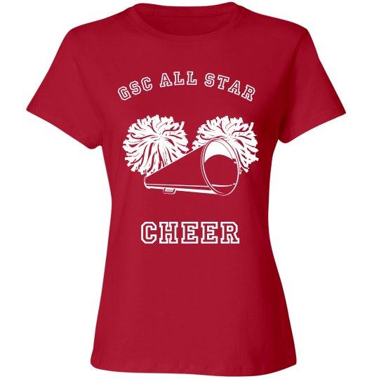 GSC All Star Cheer Tee