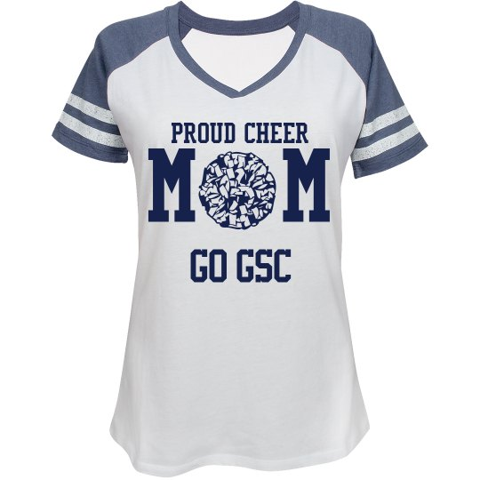 GSC LADIES RELAXED FIT V-NECK SPORTS TEE