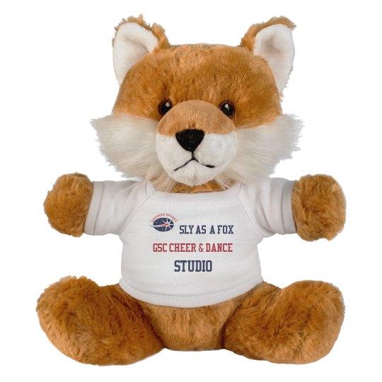 GSC Sly As A Fox 8 Inch Fox Stuffed Animal