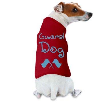 Guard Dog (Color Guard Flag Logo)