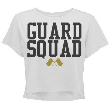 Guard Squad Cropped T-Shirt