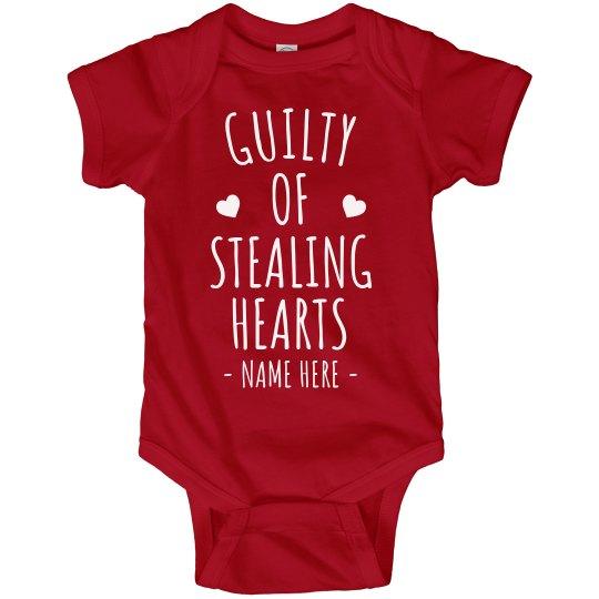 Guilty of Stealing Hearts Custom Bodysuit