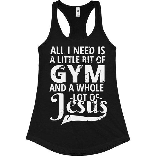 Gym & Jesus Workout Tank