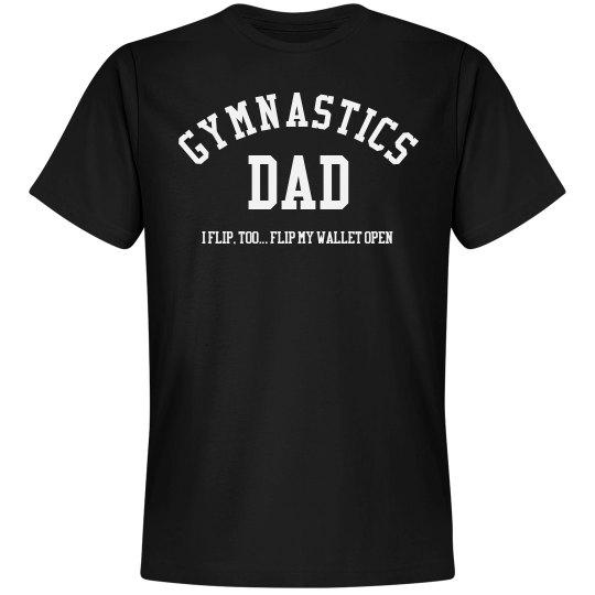 Gymnast Dad Flips His Wallet Open