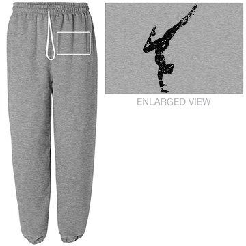 Gymnast sweats