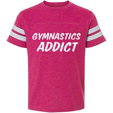 Gymnastics Addict t-shirt