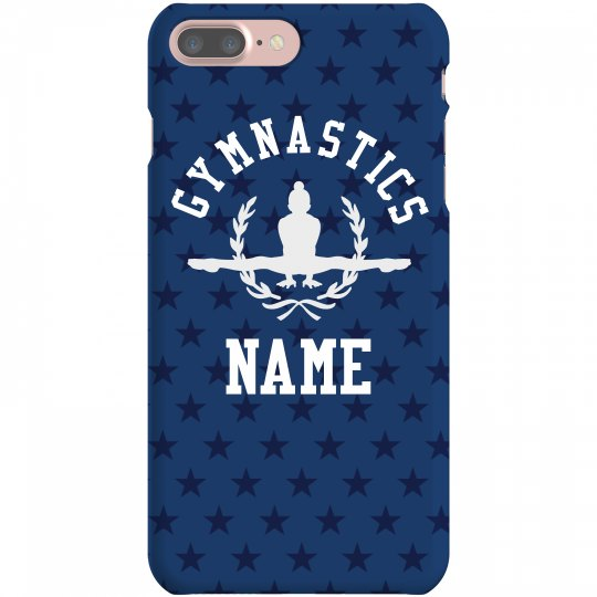 Gymnastics Custom Name Stars